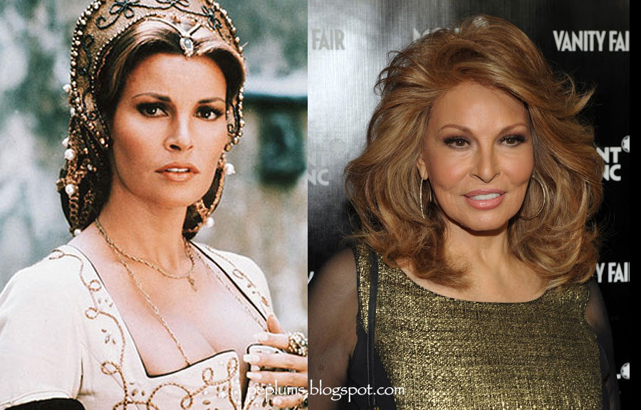 raquel as constance de bonacieux in the three musketeers 1973 raquel    Raquel Welch Now And Then