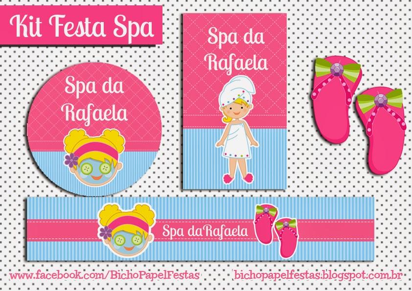 Kit Festa Spa
