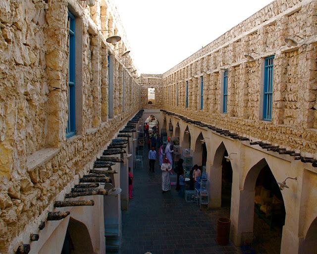 Souq Waqif Ancient Arabic Heritage  - Qatar