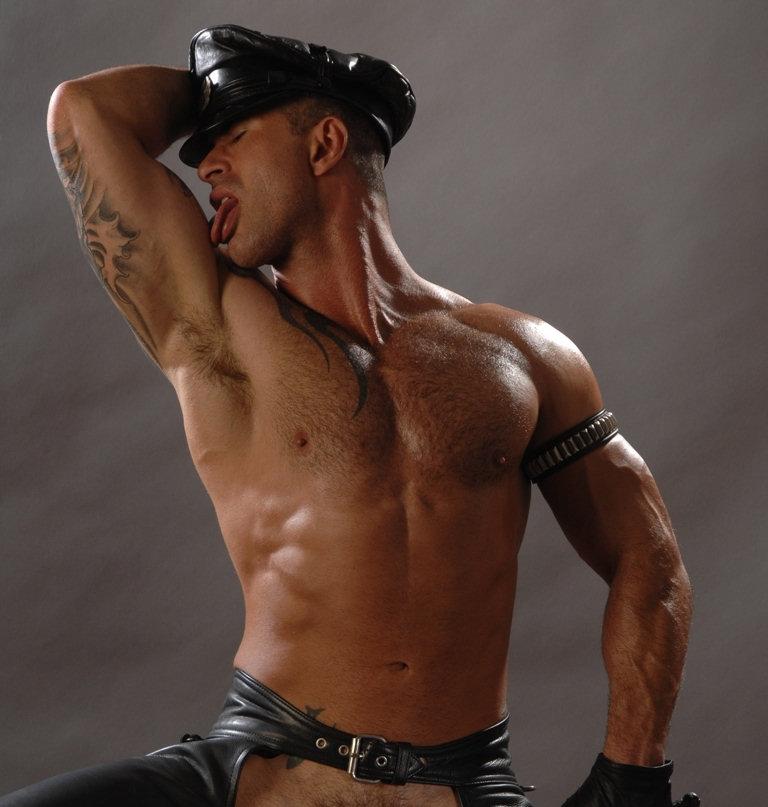 Adam Killian As A Horny Leather Pig In Colt Studios Uniform Men