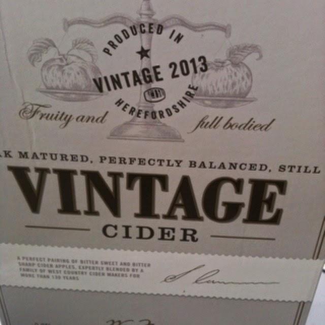 Morrisons vintage cider
