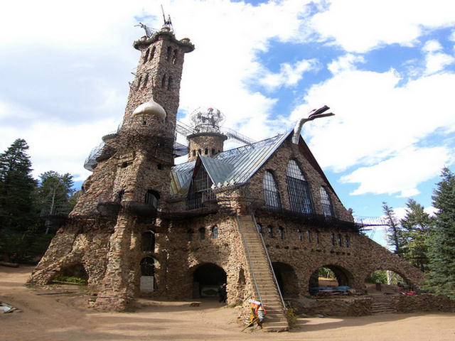 Beautiful Bishops Castle Medieval Castle In Cowboy Country