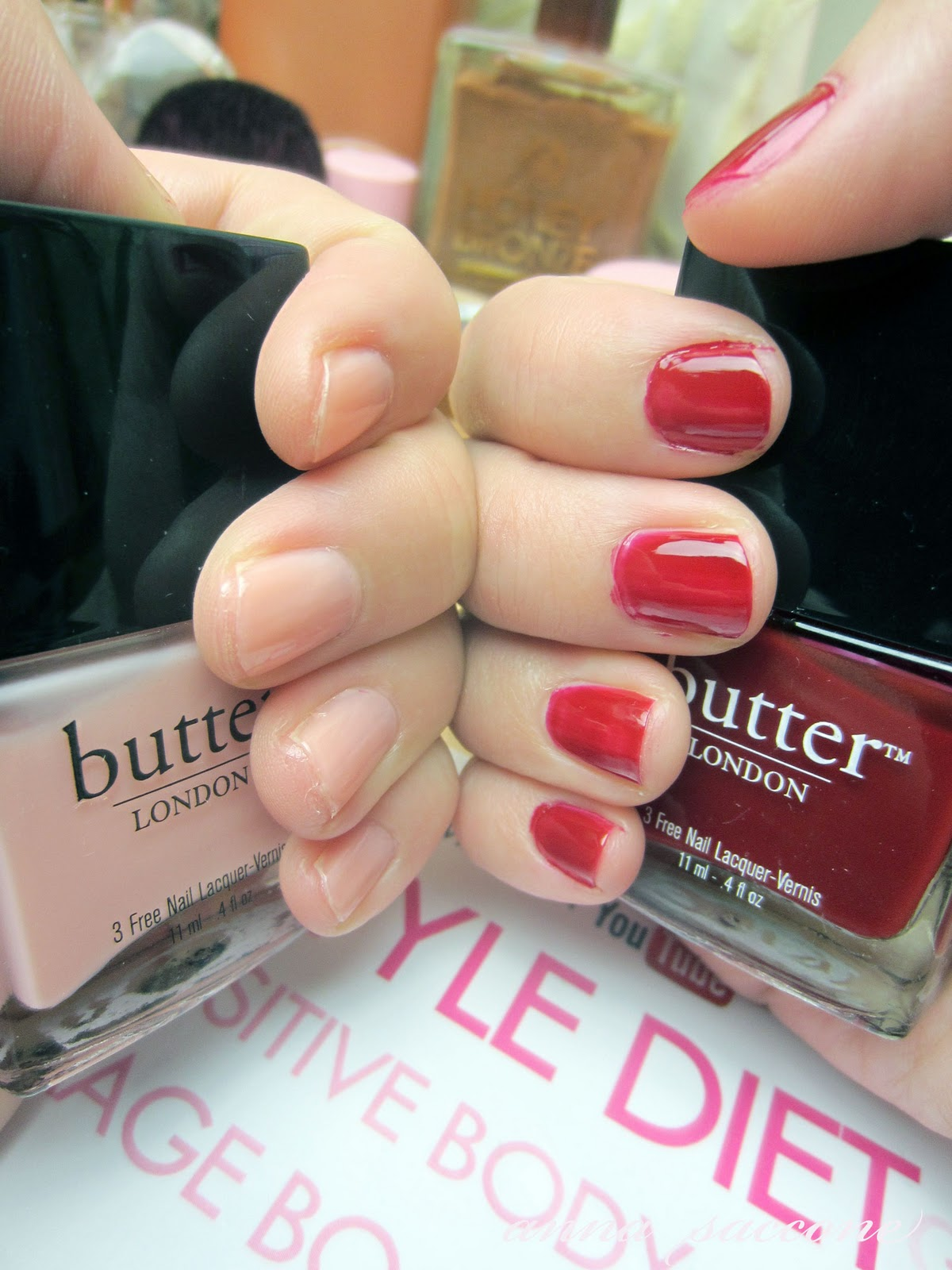 Butter London Nail Polish Pregnancy - Absolute cycle