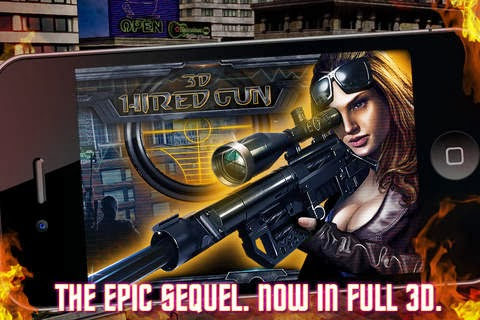 screenshot 5 Hired Gun 3D v1.2.1
