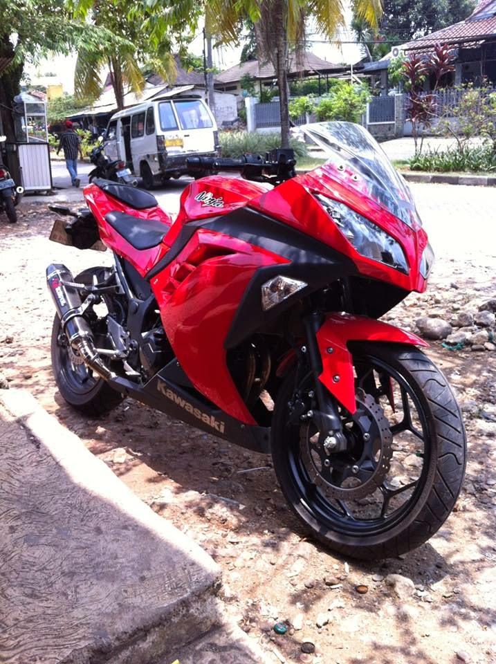 Info Motor Bekas Dijual Ninja 250 Merah Mulus Jakarta