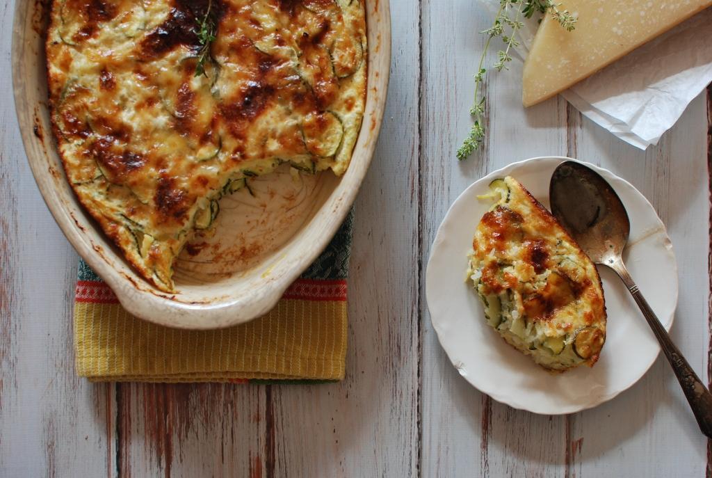 Zucchini Gratin - Tian de Courgettes