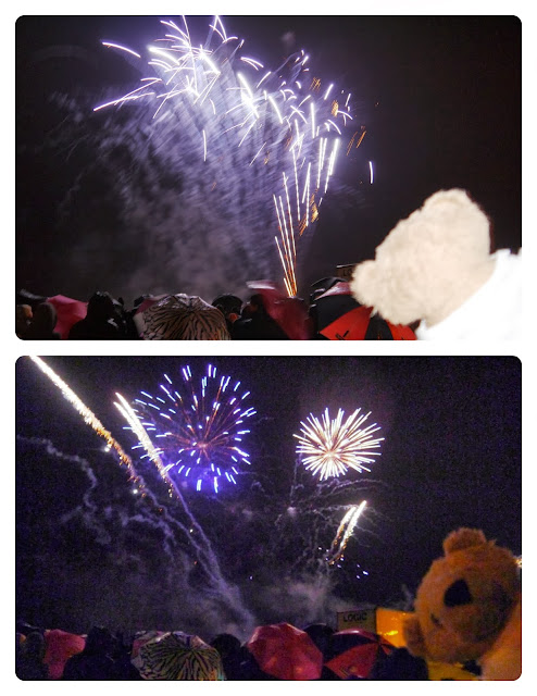 Omnibear at the Fireworks