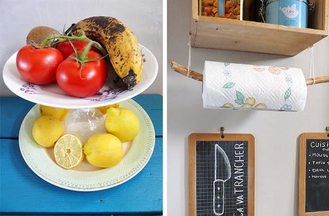 Accessoires de cuisine recyclés