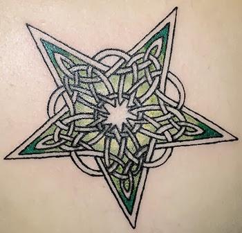 tattoo ideas celtic star tattoo