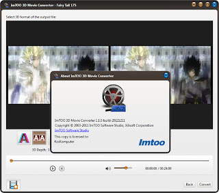 ImTOO 3D Movie Converter 1.1.0 Full Patch