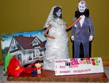 prezent ślubny
