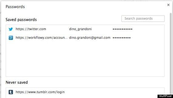 Cómo ver todas las contraseñas guardadas en Chrome