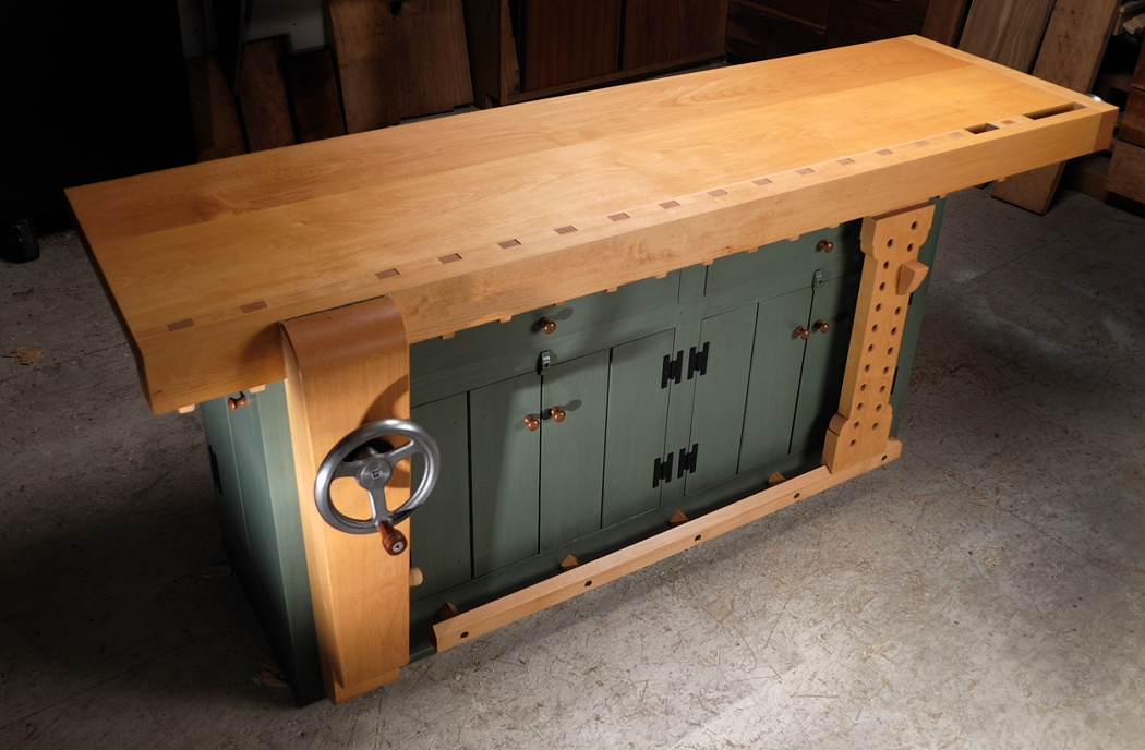 Amazing  Shaker Workbench  By CarterR  LumberJockscom  Woodworking