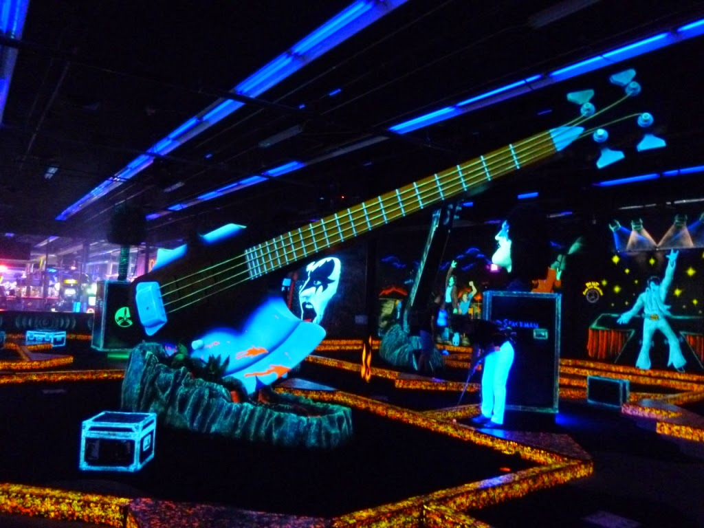 KISS Monster Mini Golf course in Las Vegas