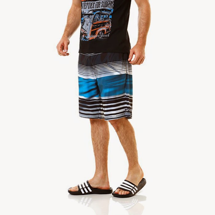 Homem de chinelo - Chinelo masculino Adidas Duramo