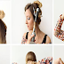 Easy Cute Updo Hairstyle Tutorial