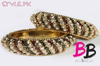 beautiful and latest bangle collections and designs, 2012, images, picures
