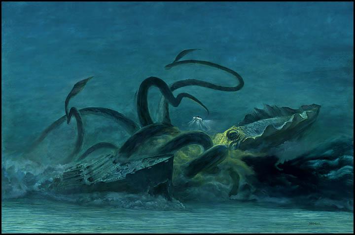 Misteri mahluk dasar laut