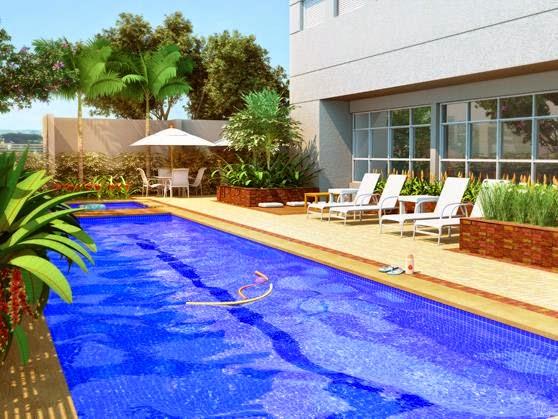 Style apartamentos vitrine guanabara guanabara for Drim piscinas