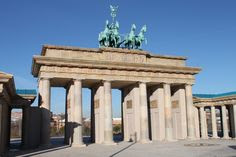 Reproducción de la Puerta de Brandeburgo, Parque Europa