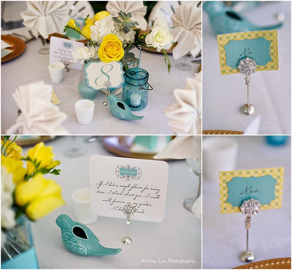 fotos de decoracao de casamento azul e amarelo : fotos de decoracao de casamento azul e amarelo:Papelaria Personalizadas: Decoração de Casamento em Amarelo e Azul