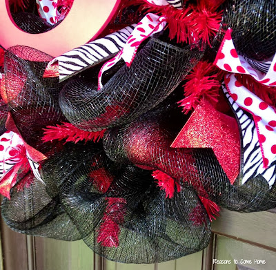 Georgia Deco Mesh Wreath