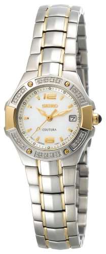 Seiko Women's SXD692 Coutura Diamond Watch