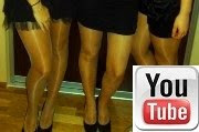 Pantyhose Fans on youtube