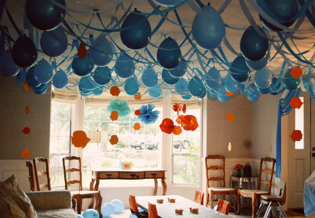 Once upon a time parties the pirate party decoration ideas for Balloon decoration ideas for birthdays