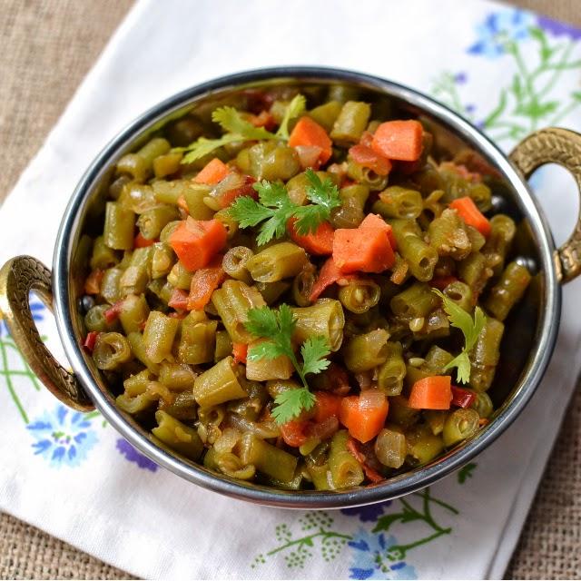 Nepali Mixed Vegetable Curry (Tarkari)