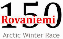 Arctic winter race Finland