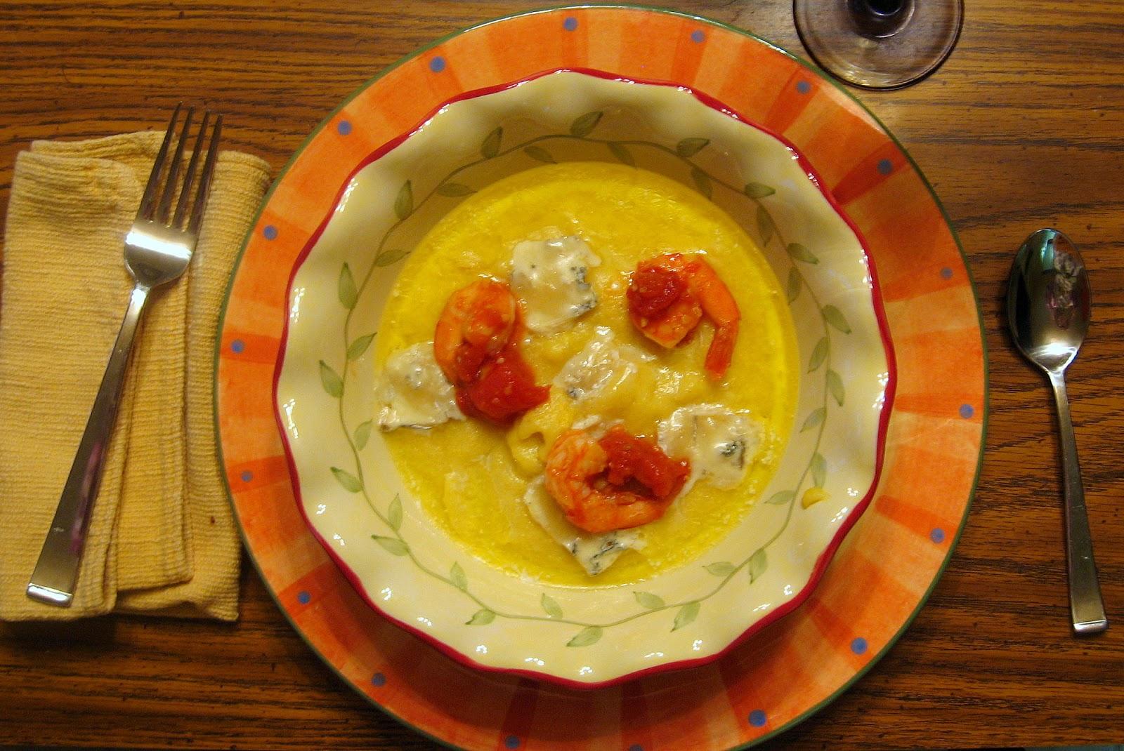 Shrimp In Gorgonzola Sauce Recipe — Dishmaps