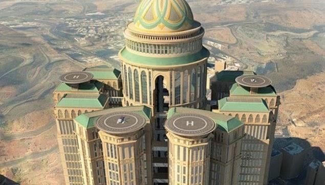 Abraj Kudai, hotel paling besar di dunia bakal beroperasi di Makkah