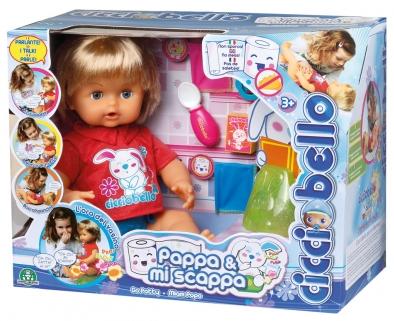 Cicciobello Pappa e Mi Scappa  Giochi Preziosi prezzo nuovo bambolotto Natale 2014