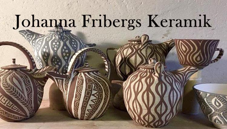 Johanna Fribergs keramik