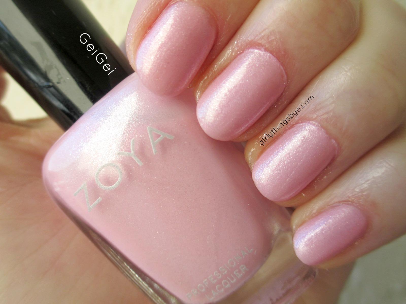 Manicure Monday: Zoya GeiGei   @girlythingsby_e   Beauty Chit Chat