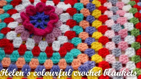 Helen's Colourful Crochet Blankets