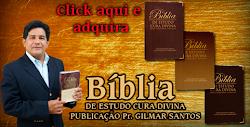 Evangelista Ernani Lourenço representante oficial da bíblia de estudo escrita pelo Pr.Gilmar Santos