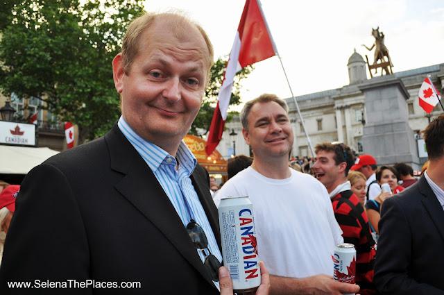 Canada Day at Trafalgar Square London