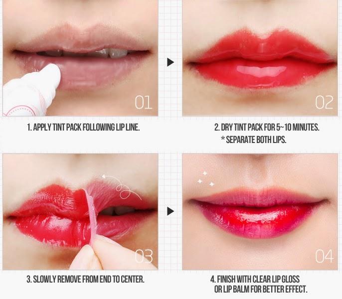 Oops My Lip Tint - Gloss batom que dura 12 horas - tinta tatuadora de labios