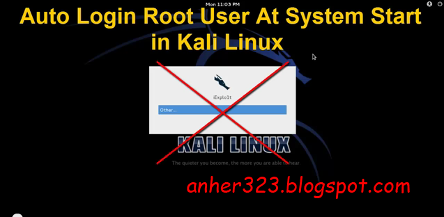 how to change user in kali linux