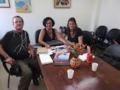 Reunião com a Coordenadora EStadual de DST/Aids
