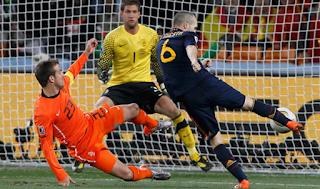 El Gol De Andres Iniesta Salvo El Mundial De Sudafrica 2010