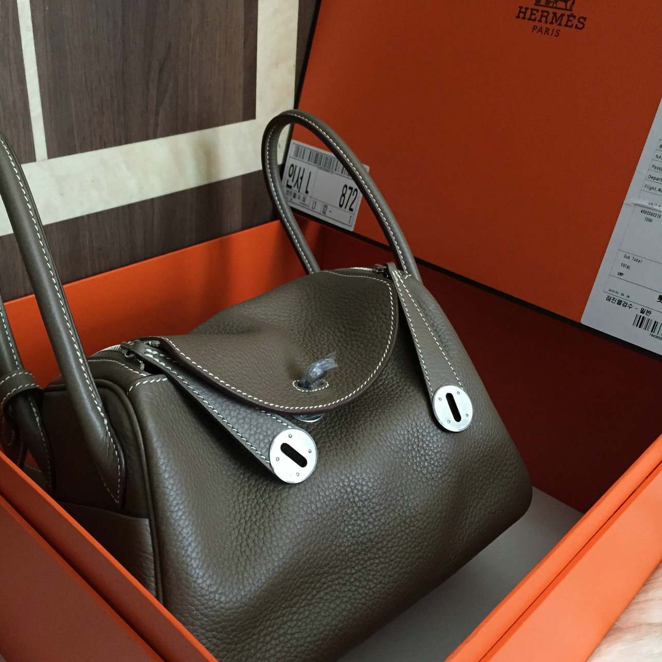 d0154656243c usa pre shipment photos hermes lindy 26cm full hand stitching in togo  leather best original quality