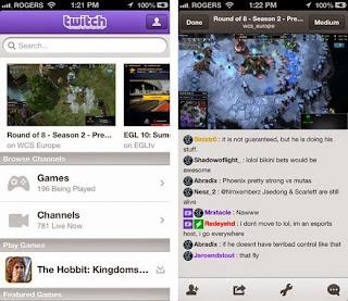 Twitch Aplicación para ver como otros juegan