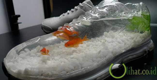 Aquarium Sepatu Nike