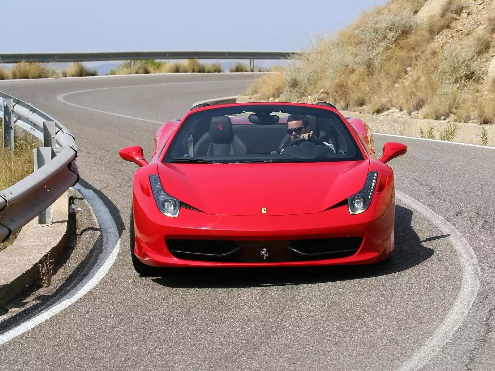 Hình ảnh siêu xe Ferrari 458 Spider 2013 & nội ngoại thất