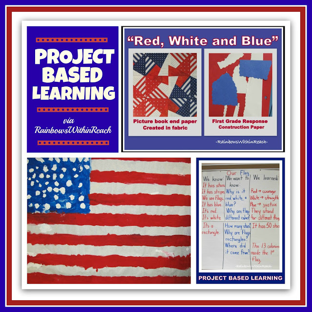 Project Based Learning Approach for President's Day via RainbowsWithinReach