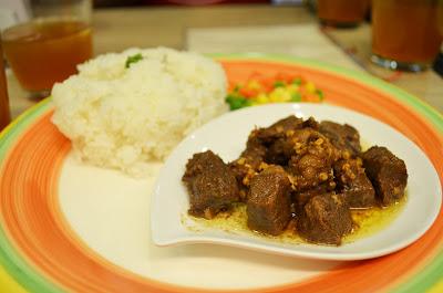 Teacup Café: Beef Salpicao