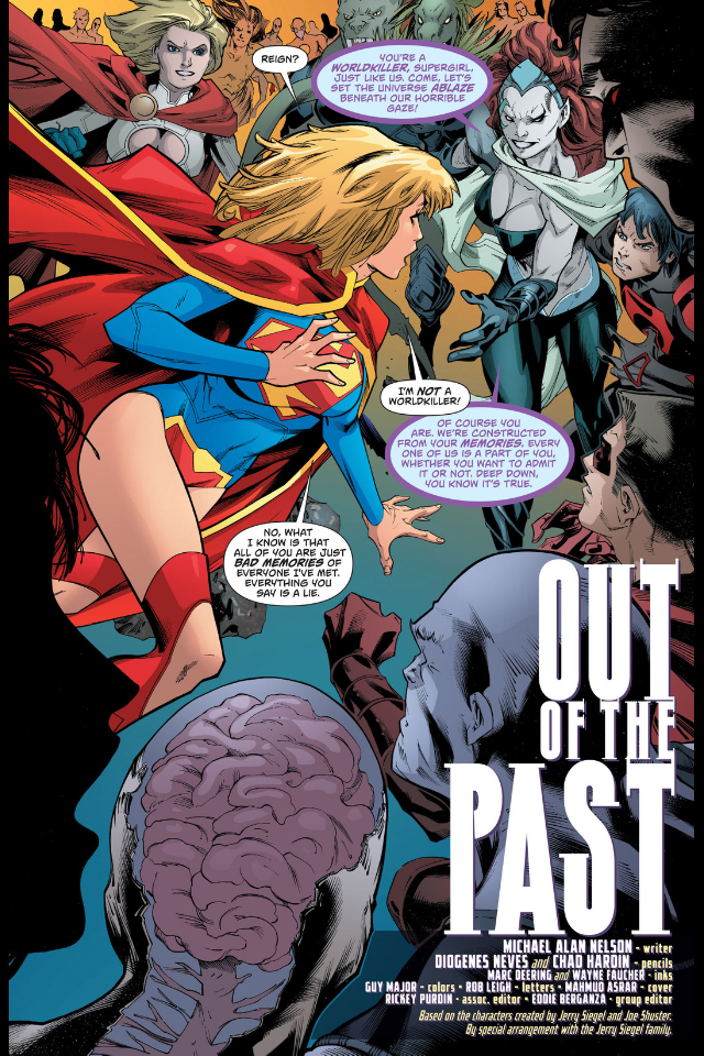 ... chased by C... Cyborg Superman New 52